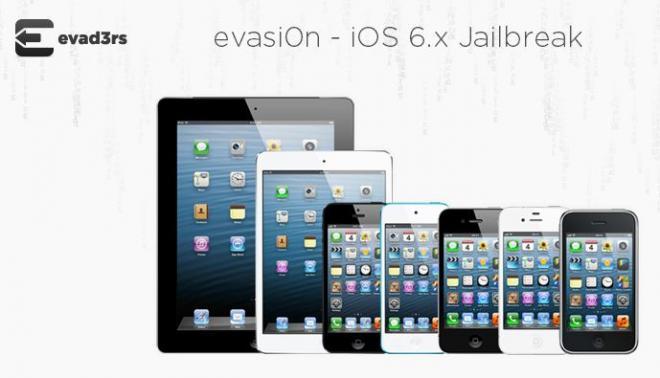 Evasi0n for iOS6 by Evad3rs