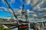 USS Constitution in Charles Town Naval Yard