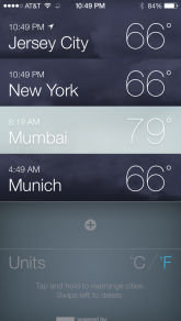 Finally, no one have to buy any other weather app as Apple has finally understood what users really needed. Say good bye to all the $ you've spent on weather apps.