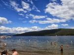 Beach on the lake